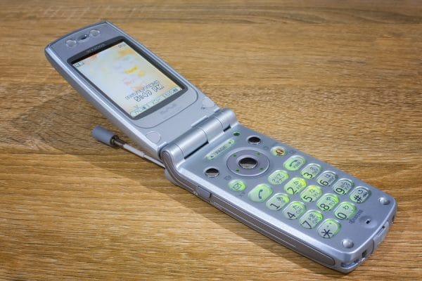 Flip phone photo