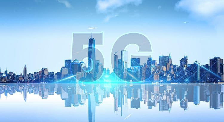 5G city image