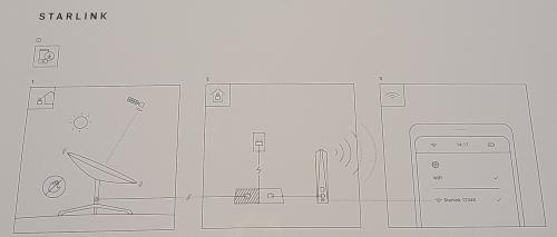 Starlink setup instructions